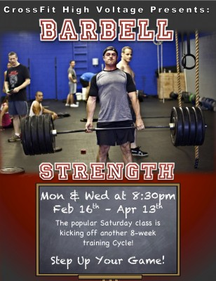 Barbell Strength Poster V3